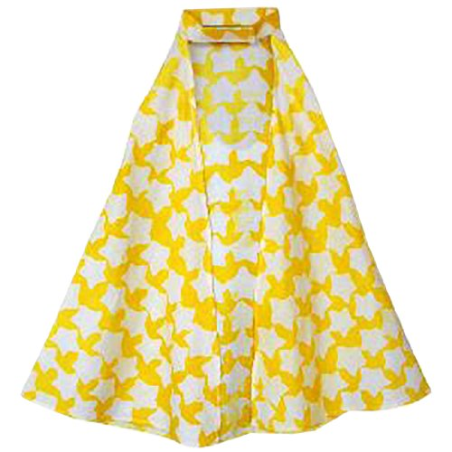 [Fair Trade Kids Cotton Play/Costume Cape (Gold Stars)] (Ghana Costume For Boys)