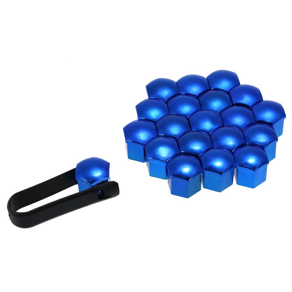 20pcs Universal 21mm Radmutter Abdeckungen Radmutter Kappen Schraubenschutz