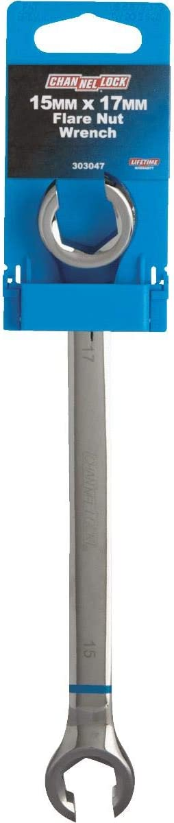 Channellock Metric 15 mm x 17 mm 6-Point Flare Nut Wrench