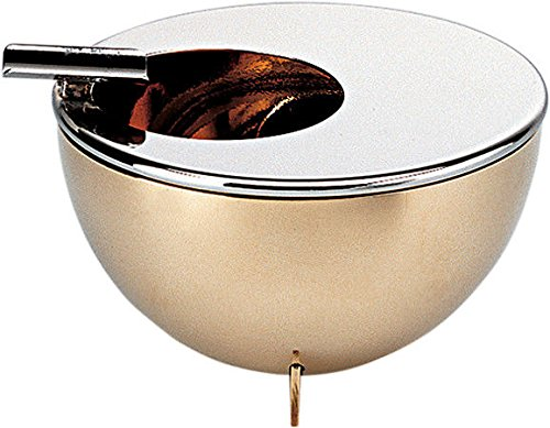 Bauhaus Ashtray Material: Inox and Brass