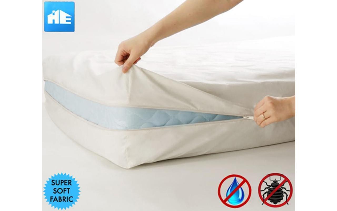 Amazon.com: Ultimate Bed Bug Blocker Zippered Mattress Protector (Queen):  Home & Kitchen