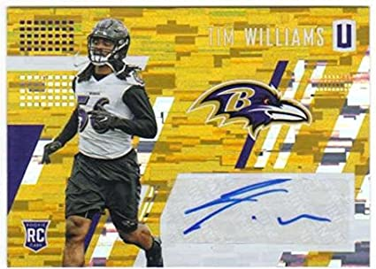 detailed look fb644 a98e4 Amazon.com: 2017 Panini Unparalleled Rookie Autograph Yellow ...