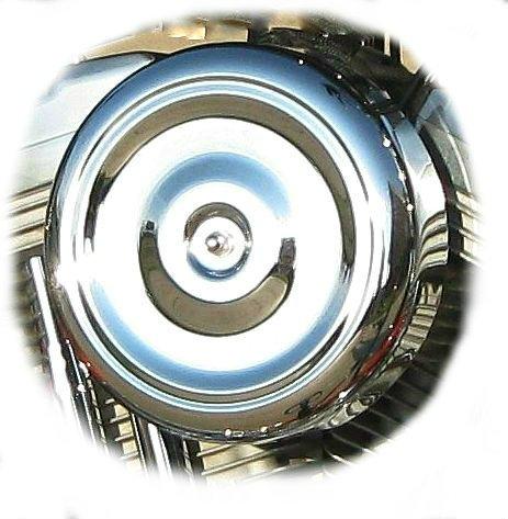 - DK Custom Products Chrome Bobber Cover for DK Custom Outlaw Air Cleaner Harley Motorcycle DK-AC-CVR-CB