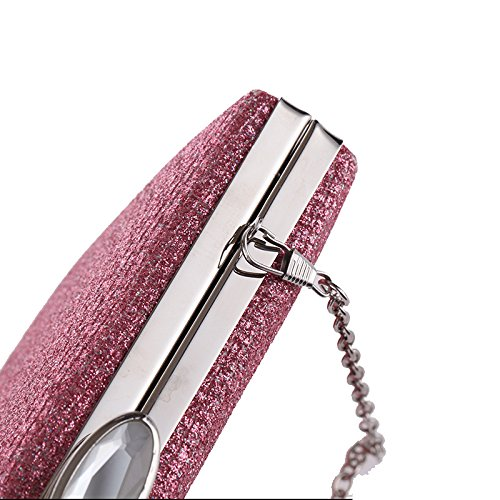 Clutch Glittering Evening Bag Formal Hardbox Hand Stud 2017 Top Women's Clasp Metal Navy Crystal q5FEtB7