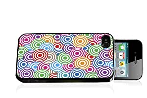 Muti-Colored Circle Spots iPhone 4/4s case