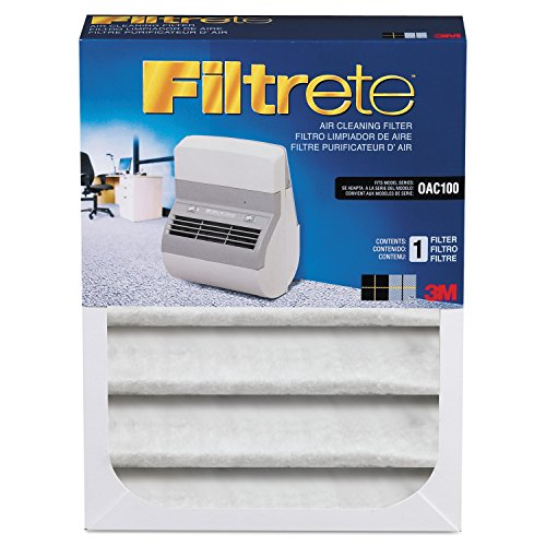 Filtrete Replacement Filter for Office Air Cleaner OAC100, 7.04 Inches x 9.37 Inches x 2.244 Inches (OAC100RF)
