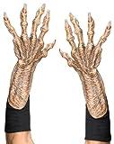 Zagone Studios G1001 Adult Monster Hands, Brown/Beige, One Size