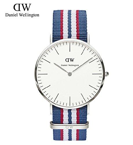 Marca alta calidad Daniel Wellington Reloj Dw Hombres y Mujeres Funda de piel correa de nailon/Nueva marca de lujo reloj de cuarzo Rosegold: Amazon.es: ...