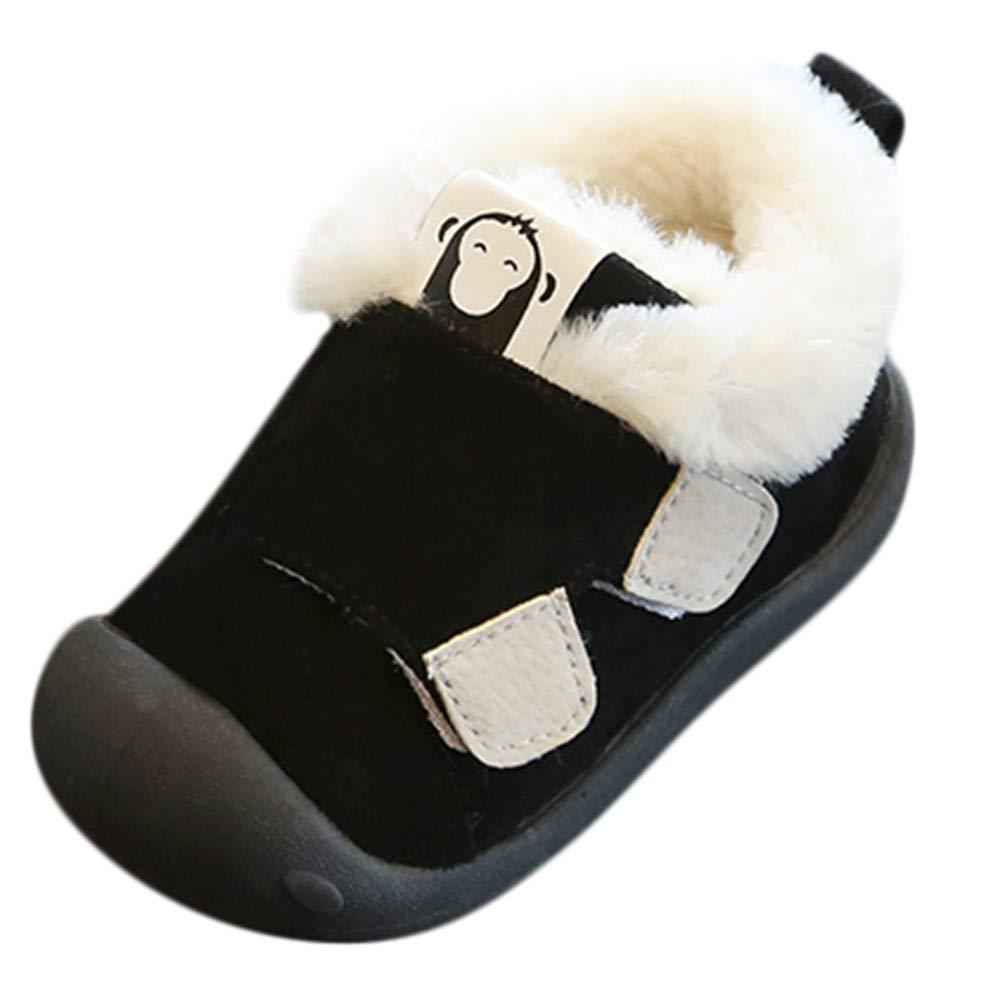 Logobeing Zapatos de Bebe Zapatillas Antideslizantes Ni/ño Peque/ños Caminantes Mullidos Calientes Primeros Pasos Zapatos Recien Nacido Ropa de Bebe Caminantes Mullidos