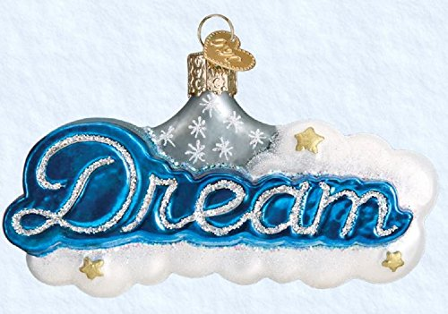 Old World Christmas Glass Blown Ornament Dream