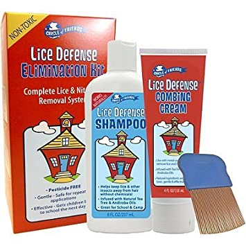 Amazon.com: Círculo de amigos de los piojos Defense Kit de ...