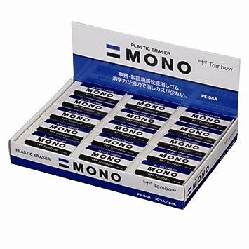 "Tombow Kunststoff-Radierer /""MONO M/"" weiß"
