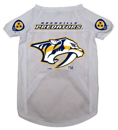 NHL Nashville Predators Pet Jersey,  Small
