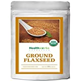 Healthworks Flaxseed Ground Organic ColdMilled 2LB