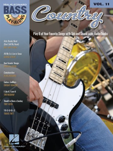 Country Songbook: Bass Play-Along Volume 11