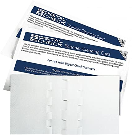 Digital Check Scanner Cleaning Card Featuring Waffletechnology (1)