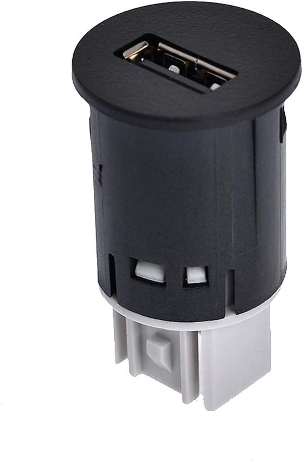 labwork USB Car Charger Socket Power Outlet Adapter Outlet Port 20944422 Fit for 2010-2014 Chevrolet GMC Cadillac Truck