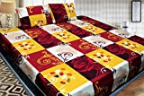 Grace Cotton King Size Double Bedsheet, 1 Bedsheet and 2 Pillow covers From Fashion Hub