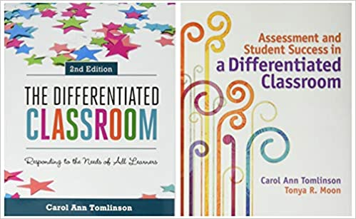 Differentiated Instruction 2 Book Set The Differentiated Classroom 2nd Ed Assessment And Student Success In A Differentiated Classroom Tomlinson Carol Ann Moon Tonya R 9781416620747 Amazon Com Books