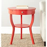 Safavieh American Homes Collection Kendra Hot Red End Table