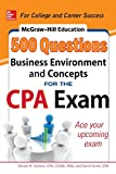 img - for McGraw-Hill Education 500 Business Environment and Concepts Questions for the CPA Exam (Mcgraw-Hill Education 500 Questions) book / textbook / text book