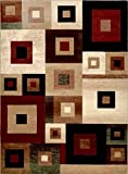 Home Dynamix Tribeca Harper Area Rug 5'2'' x7'2 Abstract Multi