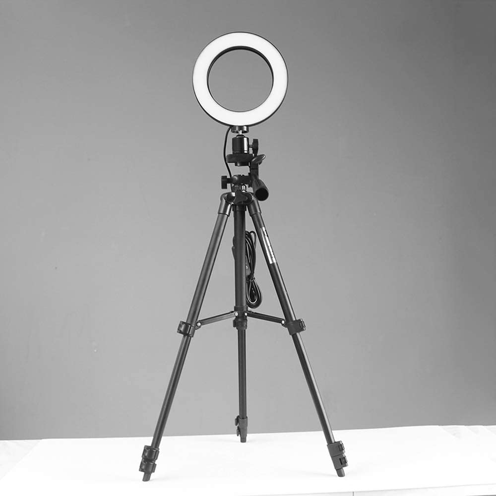 Desktop Projector Stand 4-Section Telescopic Professional Camera Mini Tripod ZXGHS Projector Tripod Adjustable to 35-102Cm Tripod