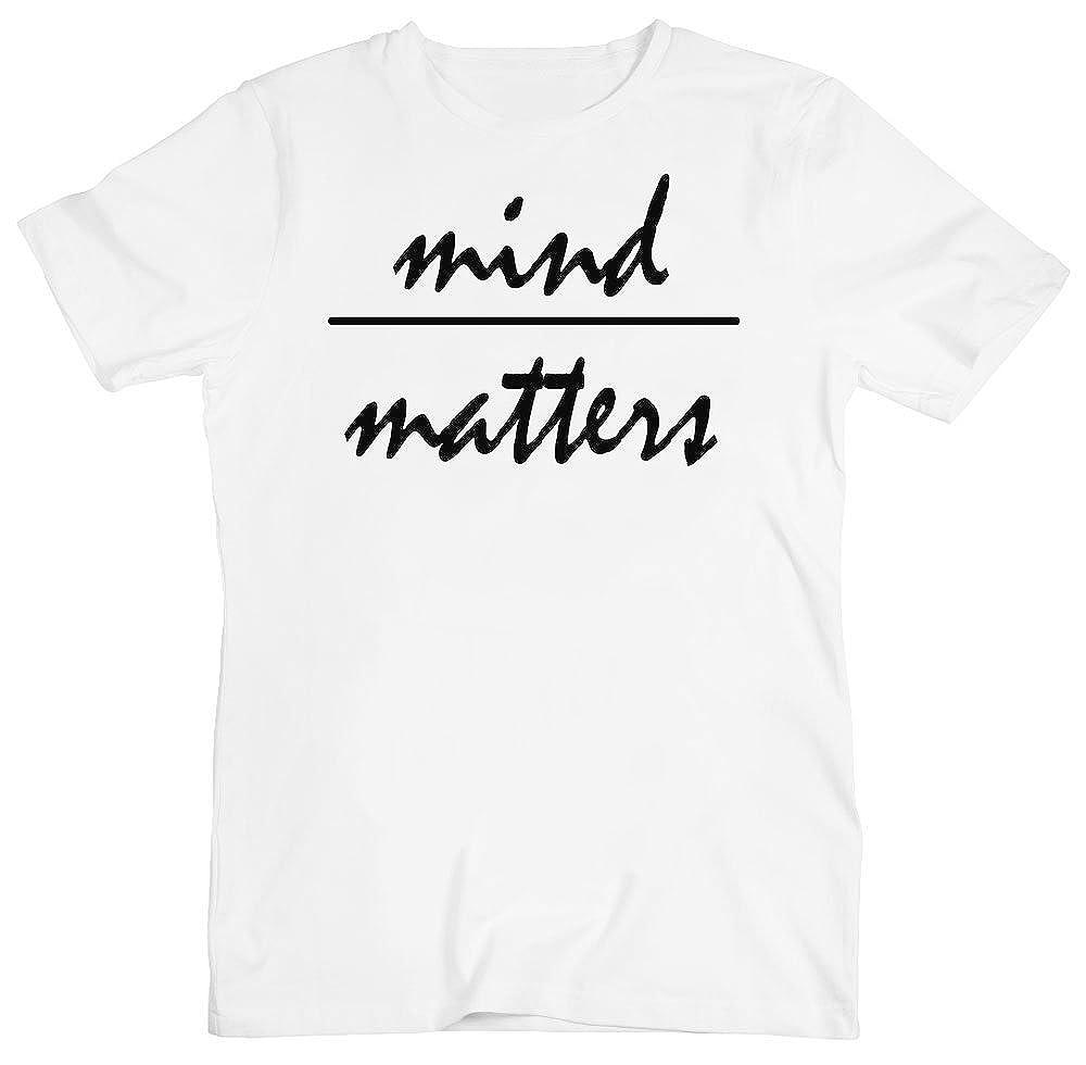 Mind Matters Minimal Handwriting Mens T-Shirt