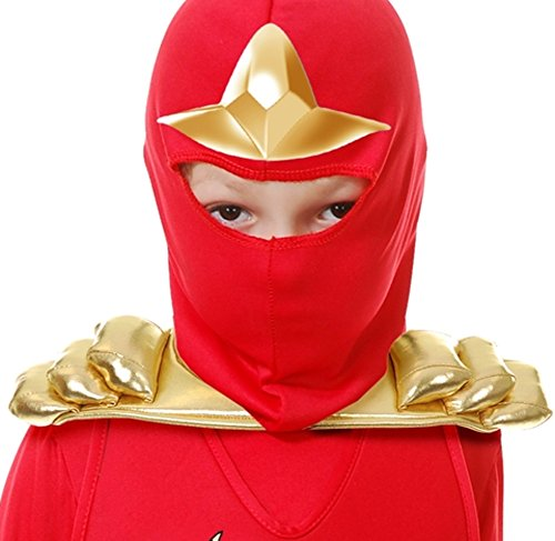 Samurai Armor Costume (Child's Gold Ninja Samurai Toy Shoulder Armor Costume Accessory)