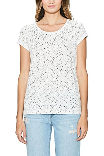 edc by Esprit Shirt Femme Blanc (Off White 110)