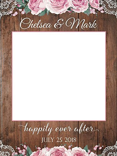 Amazoncom Wedding Props Selfie Frame For Wedding Pictures Size