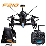 Drone With Camera - Walkera F210 Professional Racer Quadcopter Drone w/ Devo 7 Transmitter 700TVL Night Vision Camera OSD Ready to Fly Set Mode 2