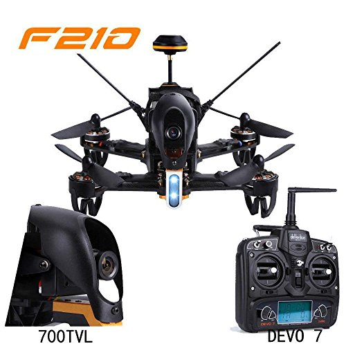 Walkera F210 Professional Racer Quadcopter Drone w/ Devo 7 Transmitter 700TVL Night Vision Camera OSD Ready to Fly Set Mode 2