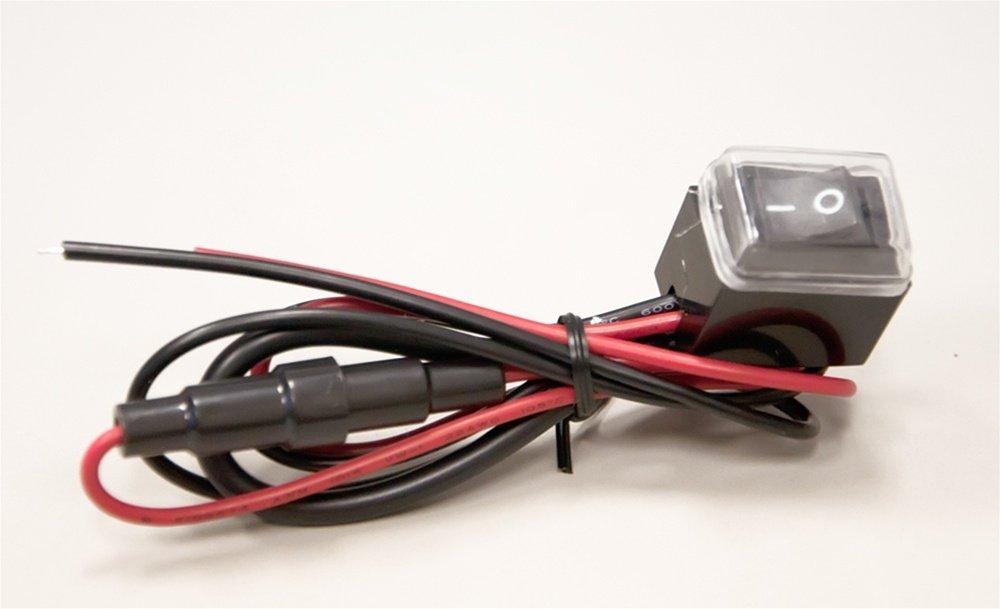 Street FX 1044653 ElectroPods Red//Chrome Motorcycle Prokit