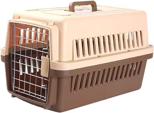 dizon Caja De Envío para Mascotas Súper Ultra Resistente Jaula para Gatos Jaula para Perros Portador