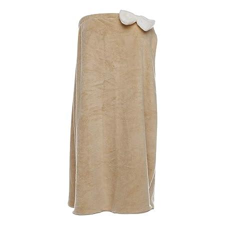 Falda de baño de Lana de Coral de poliéster Falda de Tubo de ...
