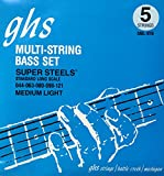 GHS M3045 Boomers Medium Electric Bass Strings