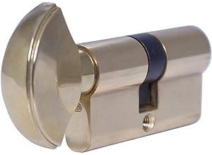 Door lock Cylinder, Key plus Knob SC-06 GP: Amazon com