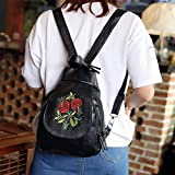 Sinwo Women Fashion Travel Backpack Shoulder Handbag Messenger Wallet Bag (A)