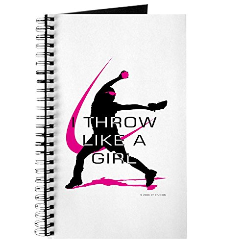 CafePress Softball Freak Pink Spiral Bound Journal Notebook, Personal Diary, Task Journal