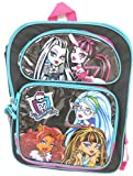 "Best Monster High High School Back Packs - Monster High All Stars Girls Large Backpack 16"" Review"