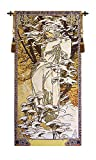 Mucha Winter European Wallhanging