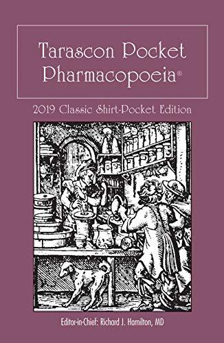 Tarascon Pocket Pharmacopoeia 2019 Classic Shirt-Pocket Edition