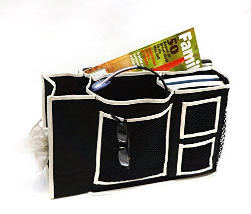 Hold N Storage Florida Brands Bedside Organizer with Tiss...