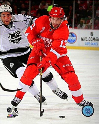 Pavel Datsyuk Detroit Red Wings 2014-2015 NHL Action Photo (Size: 8