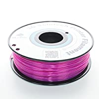 3D Solutech 3DSPLA175STPRL See Through Purple 3D Printer PLA Filament, Dimensional Accuracy +/- 0.03 mm, 2.2 lb. (1.0 kg) - 100% USA, 1.75 mm, PLA, Purple from 3D Solutech