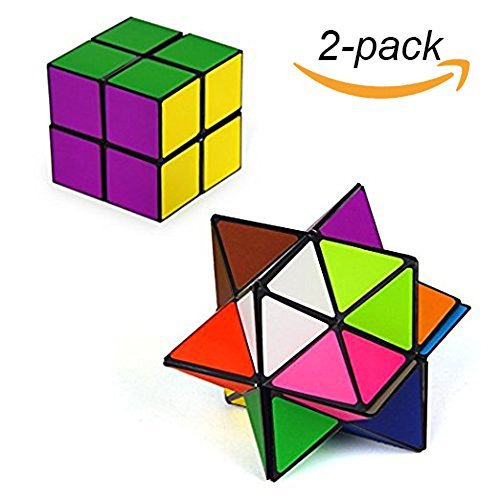 PickUrStyle Infinity Star Cube Fidget Toy 2018 Newest Magic Toy Unlimited Fidget Cube with Triangular Accessory Inside Stress Anxiety Relief Toy for Kids and Office