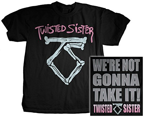 Twisted Sister Mens We're Not Gonna Take It T-Shirt