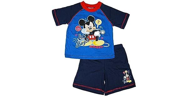 Disneys Mickey Mouse - Pijama dos piezas - para niño azul blue / multi 18-24 Meses: Amazon.es: Ropa y accesorios