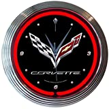 Neonetics Corvette C7 Neon Clock